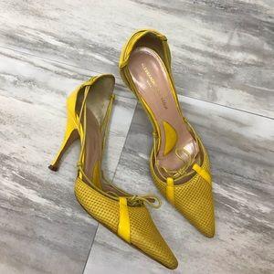 Alessandro Dell'acqua | Yellow Pointy Heels